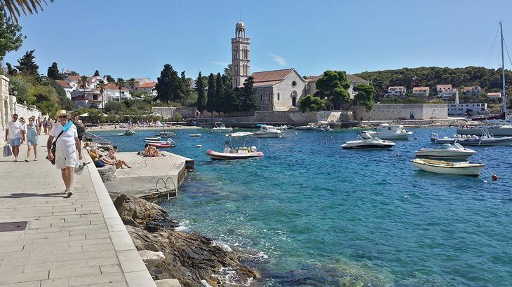 красивые острова Хорватии