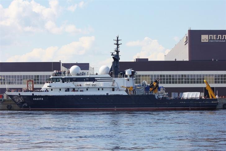 Строительство опытовых судов «Ладога» и «Ильмень»
