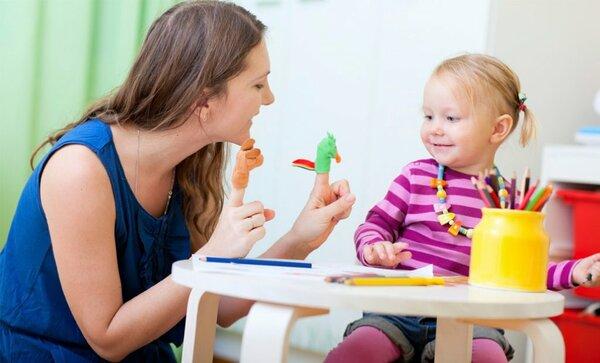 занятие специалиста с ребёнком