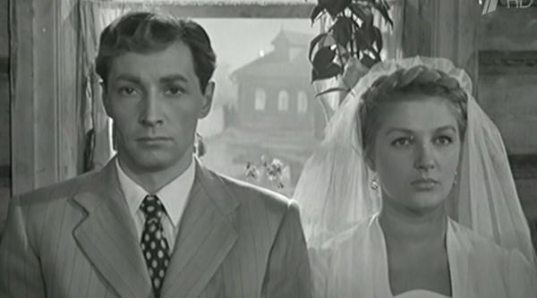 Роль Вячеслава Тихонова в фильме «Дело было в Пенькове» (1958)