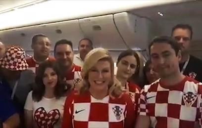 """""""Вы прекрасные хозяева"""": президент Хорватии поблагодарила Россию за ЧМ"""