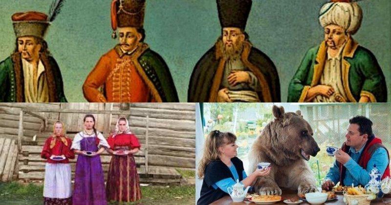 Злые, как венгры, и постоянно спят: что писали иностранцы о русских