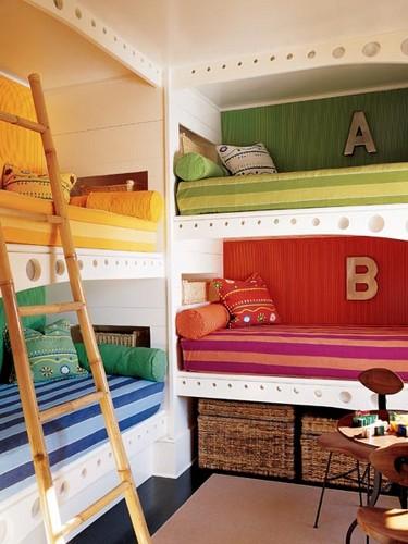 кровати в детской