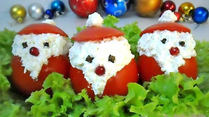 """""""Дед Мороз красный нос"""" - оригинальная новогодняя закуска за 10 минут!"""