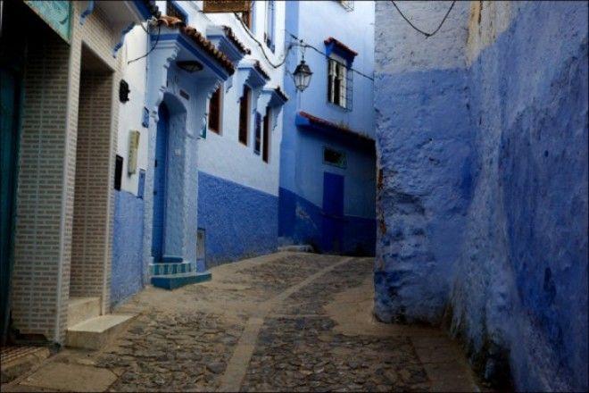 путешествие синий город 07
