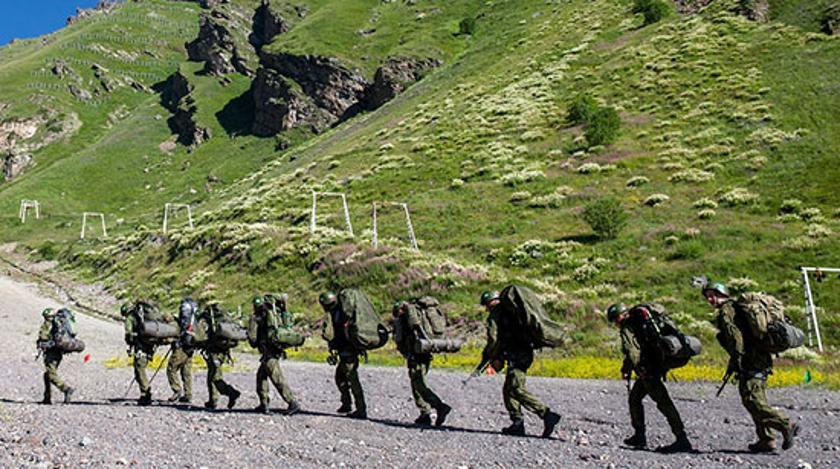 Российские горные стрелки едут в Пакистан