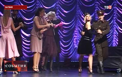 В Латвии прошла премьера мюзикла о нацистском карателе Герберге Цукурсе