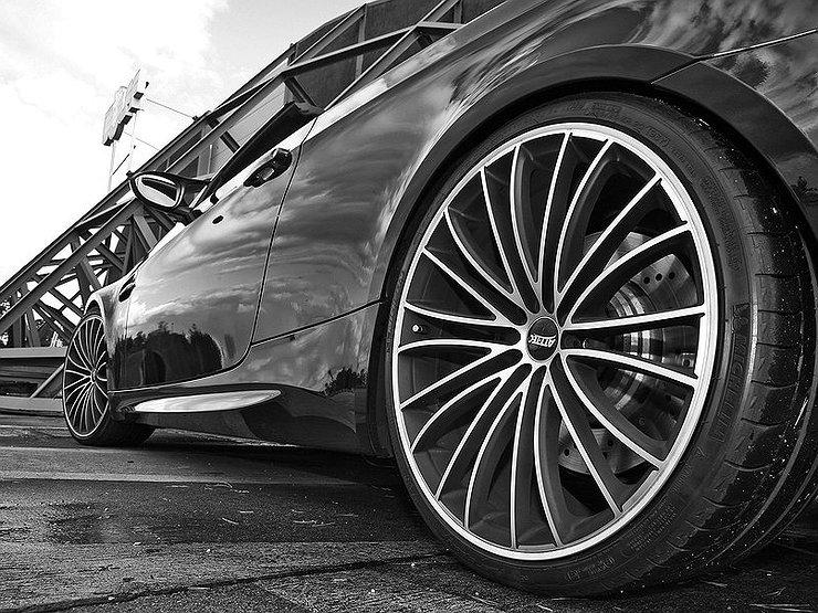 Алмазная проточка: как убрать сколы и царапины на автомобильных дисках