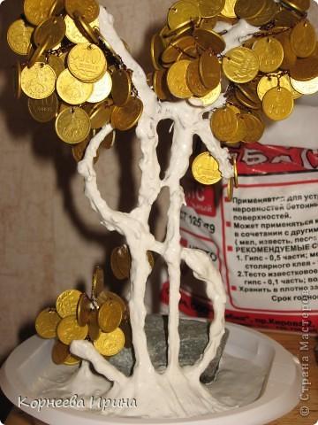 Мастер-класс День рождения Моделирование конструирование Денежное дерево МК фото 18