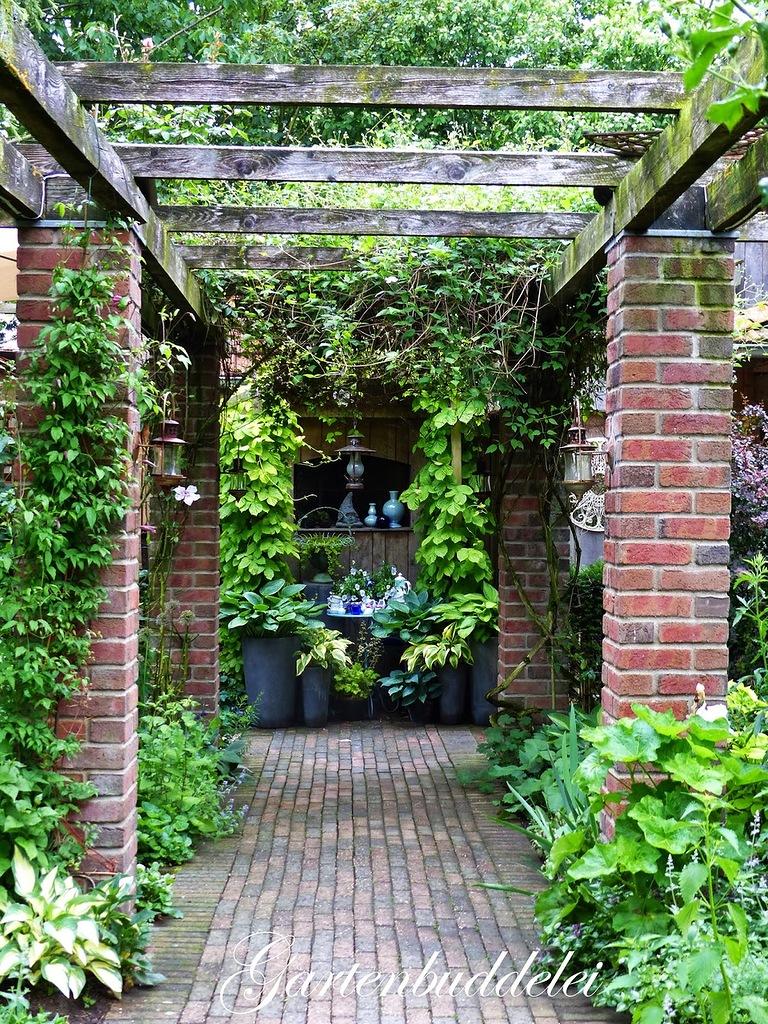 Зеленая империя Ани - сад Gartenbuddelei, Германия