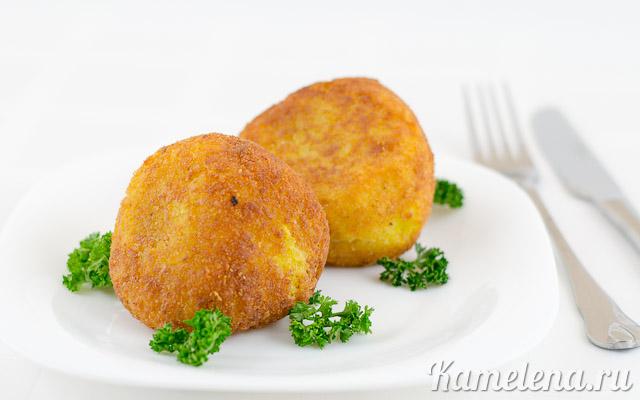 Рисовые шарики (аранчини)