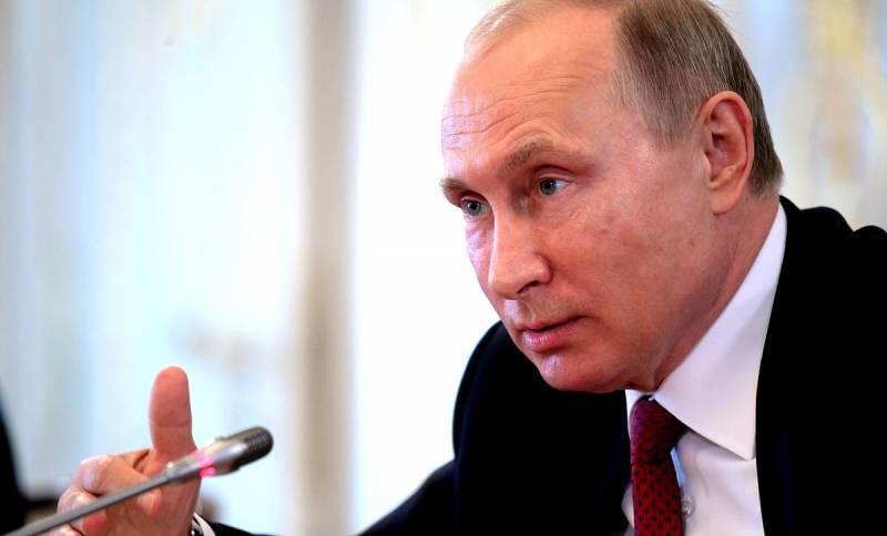 Путин придумал способ победить коррупцию