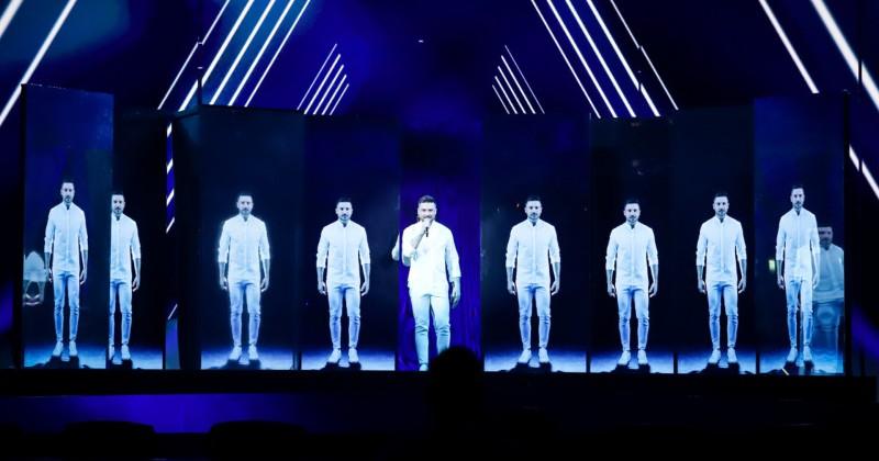 Исполненное драматизма выступление Сергея Лазарева на Евровидении разобрали на мемы