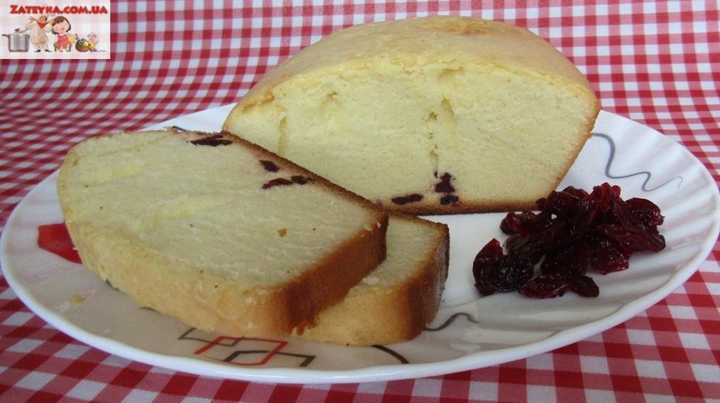 Нежный кекс с вишнёвыми цука…