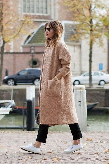 Оригинальный тренд: плюшевое пальто