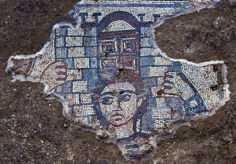 В Израиле обнаружили мозаики…