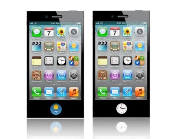 Концепт iPhone 5 с дисплеем вместо кнопки Домой