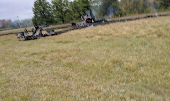 В Нижегородской области разбился МиГ-31