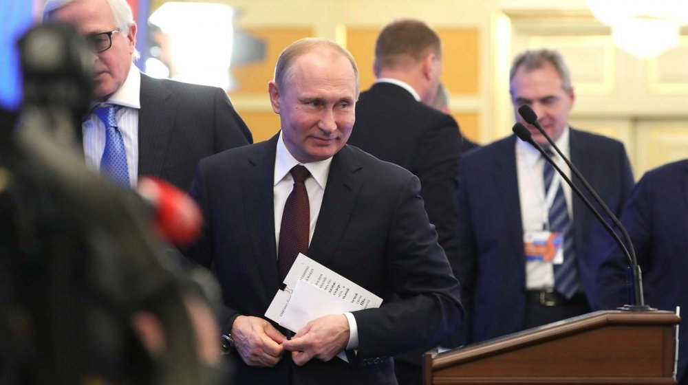 Французы в ступоре от шутки Путина