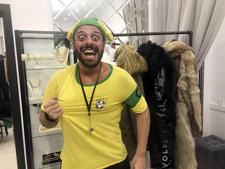 Помните бразильца, который матерился на русском?
