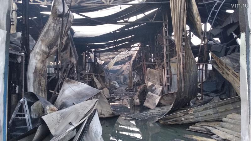 Пожар на складе в районе Сов…