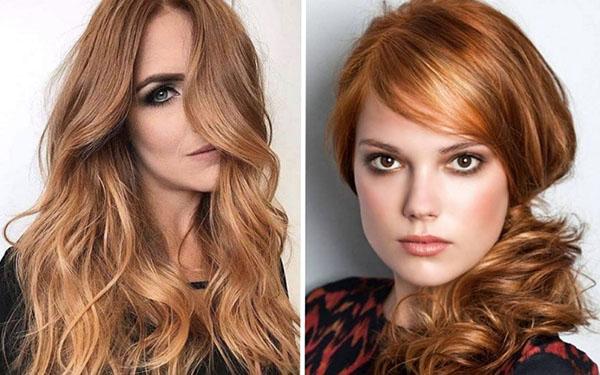 Окрашивание для рыжих волос: 4 классных идеи 2018
