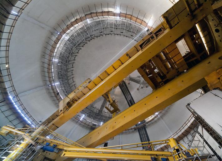 На первом блоке ЛАЭС-2 успешно завершились испытания герметичной оболочки здания реактора
