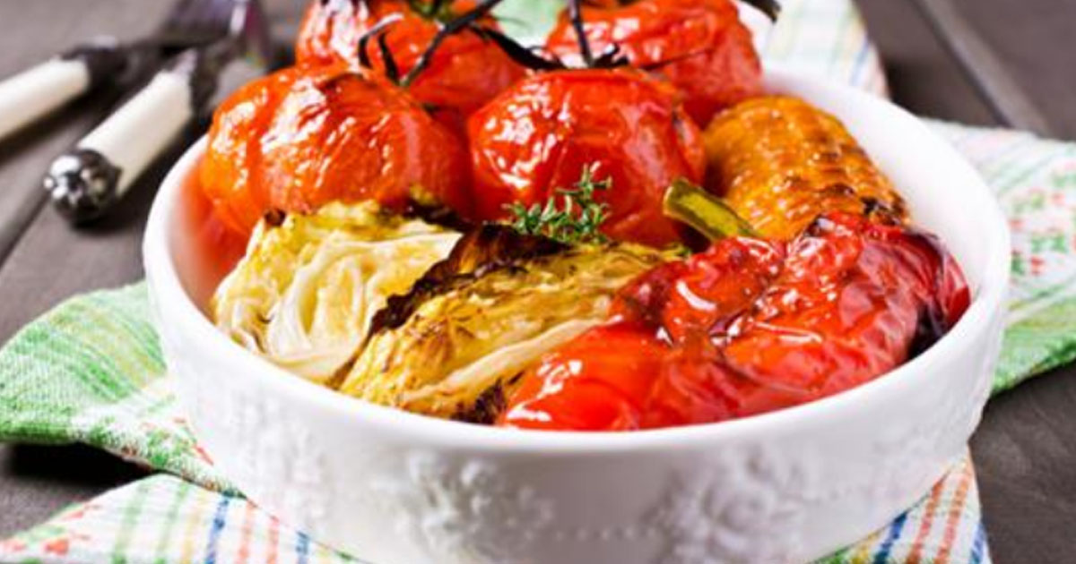 Запеченные овощи в меду и со…