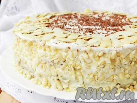 Рецепт макового торта