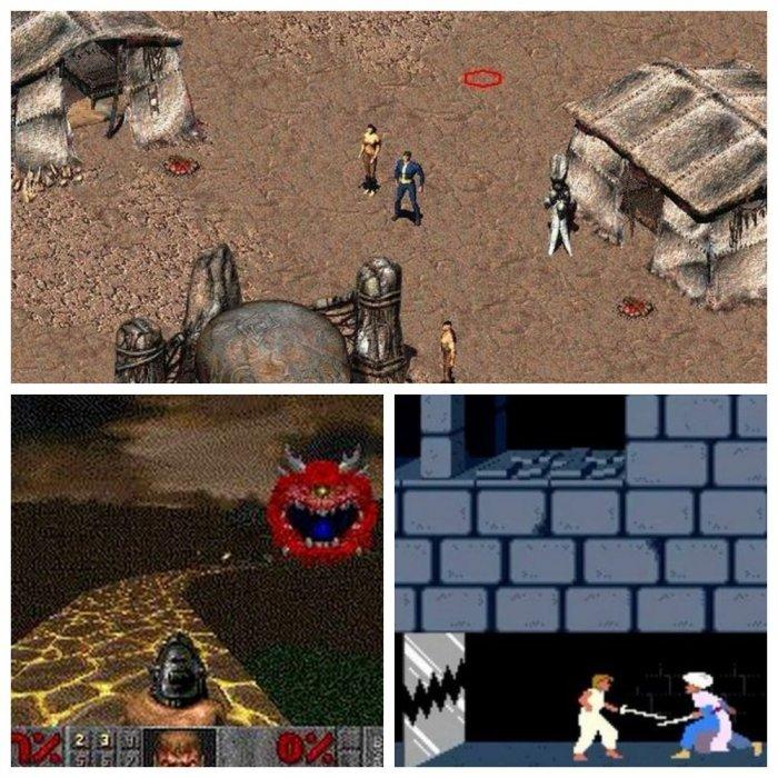 Игры, с которых все начиналось, а во что играли вы?