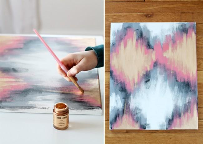 Рукотворный арт: потрясающие идеи картин для интерьера своими руками