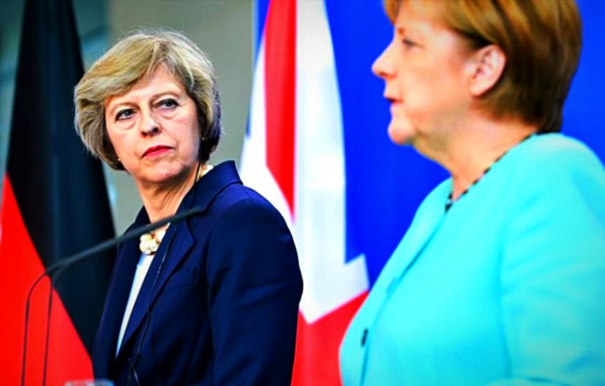 """Время Британии прошло: что стоит за """"жестким отношением"""" Меркель к Мэй"""