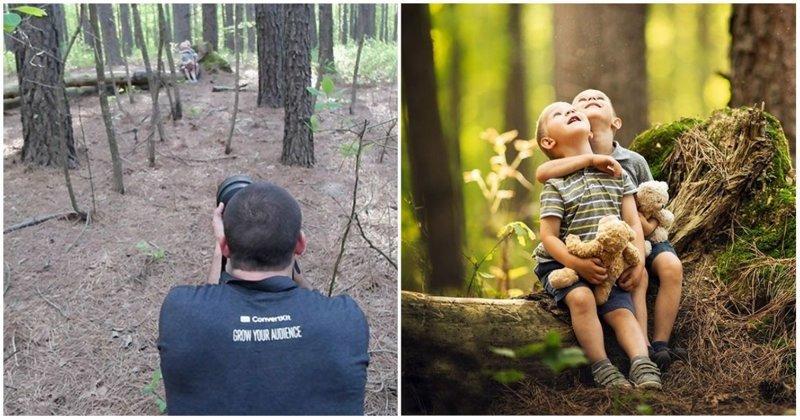 Как выглядят одни и те же места глазами обычного человека и профессионального фотографа