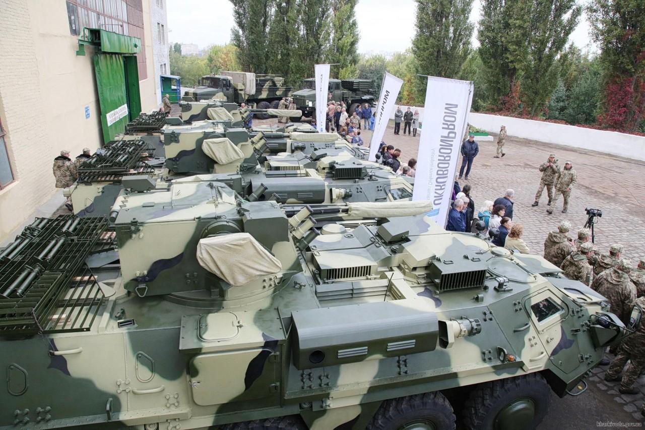 На Украине приступили к производству нового типа брони
