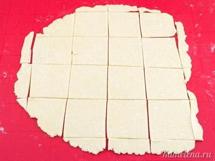 Двойное творожное печенье — 6 шаг