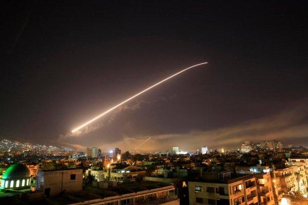 Сирийская система ПВО отрази…