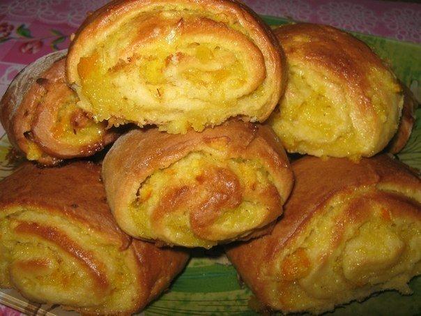 Ароматные апельсиновые печенья