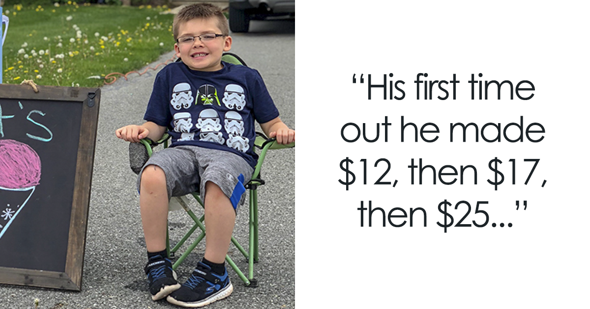 This Dad Tries To Teach His 6-Year-Old Son A Lesson About Money, Doesn't Expect Him To Start A Successful Business