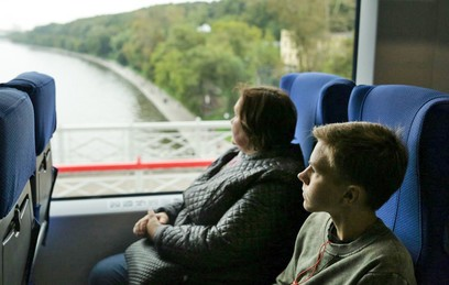 Собянин: МЦК в сутки перевозит 400 тысяч пассажиров