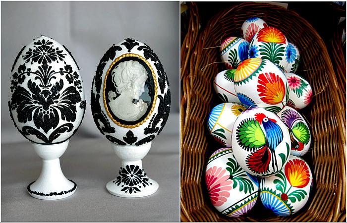 Картинки по запросу Пасха на носу: 22 небанальные идеи для украшения пасхальных яиц.