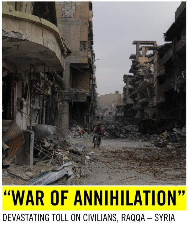 Amnesty International обвинила США в убийстве сотен мирных сирийцев