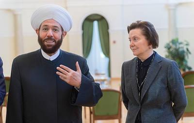 Наталья Комарова встретилась с верховным муфтием Сирии