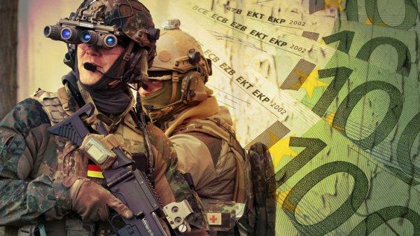 Германия вооружается в страх…