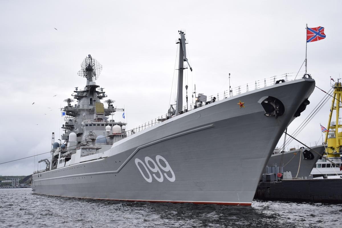 Российские атомные крейсеры …