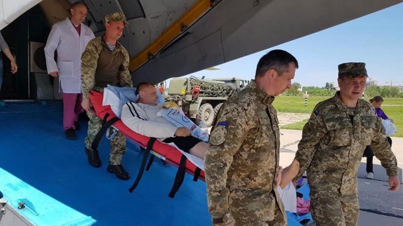 В Киев прибыл груз 300