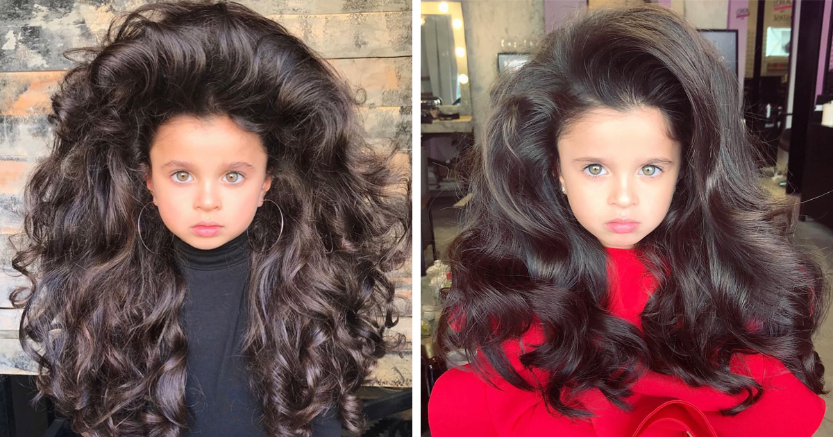 5-Year-Old Stuns Internet With Her Incredible Hair, But Some People Find The Photos 'Inappropriate'