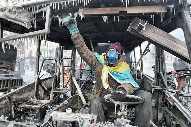Майдан в картинках — к пятой годовщине украинского сумасшествия