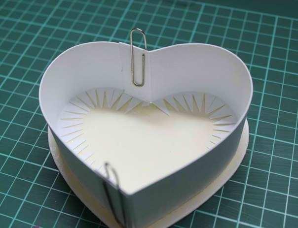 Как сделать своими руками коробку в виде торта
