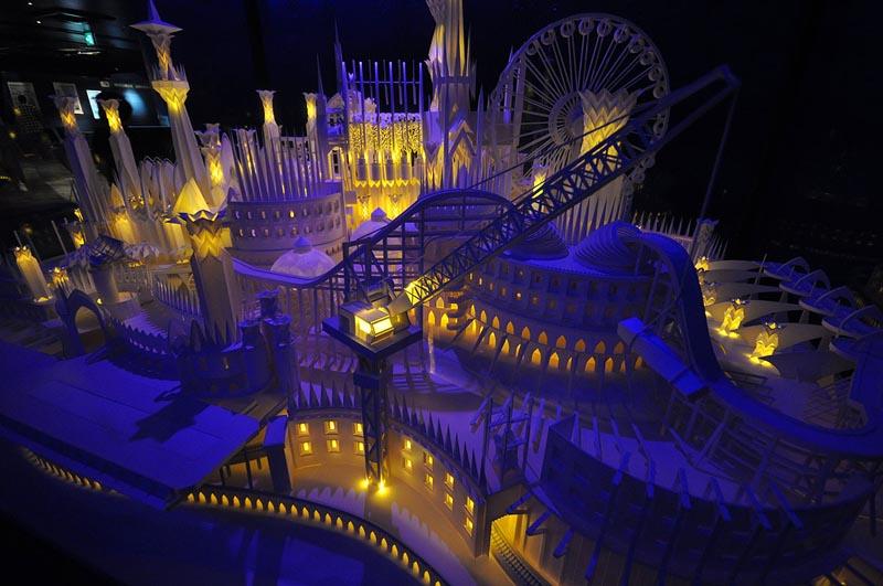 Бумажный замок (8 фото)