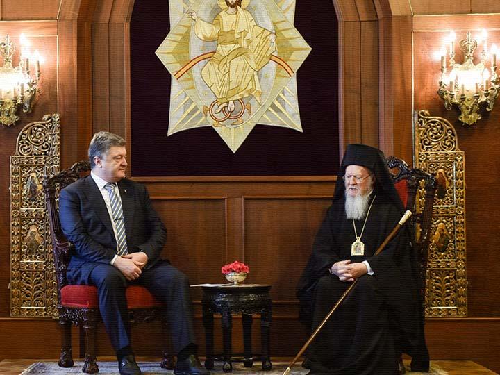 Президент Украины поблагодар…